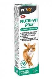 Mc Vetiq Nutri Vit Plus Kediler Için Enerji Verici Vitamin Macunu