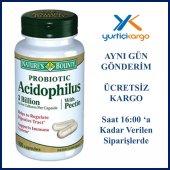 Natures Bounty Probiotic Acidophilu Pectin 100 Kapsül 08 2019