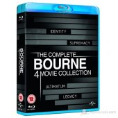 Blu Ray The Complete Bourne 4 Movie Collection