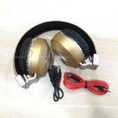 4,2 Kablosuz Bluetooth Kulaklık Sd Kart Aux Giriş Katlanır Hifi K