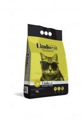 Lindo Cat Topaklaşan Kokusuz Kalın Taneli Kedi Kumu 10 Lt