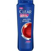 Clear Men Kepeğe Karşı Etkili Şampuan Hızlı Stl 2&...