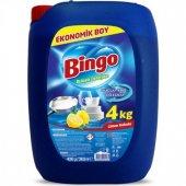 Bingo Bulaşık Deterjanı Limon Kokulu 4kg