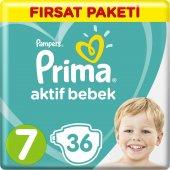 Prima Bebek Bezi Aktif Bebek 7 Beden Xx Large Fırsat Paketi 36 Ad