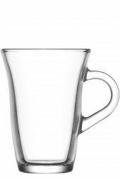 Lav Çay Bardağı Nisa Kulplu 6lı