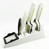 Doğrayıcı Seti Sebze Doğrayıcı Salata Soyacağı 4 Lü Set Snap Slice Pratik Doğrama Seti