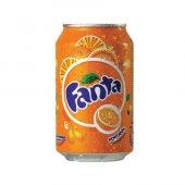 Fanta Portakal Aromalı Gazlı İçecek 330ml (24 Lü Koli)