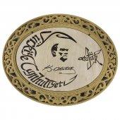 Lazer İşlemeli Atatürk Portresi