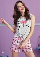 Karpuz Desen Detaylı Şortlu Pijama Bb 1017