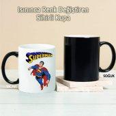 Süperman Kişiye Özel Sihirli Kupa Tk204