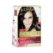 Loreal Excellence Creme Saç Boyası 2 Siyah