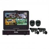 Multitek Ahd 4 Kanallı Lcd Ekranlı Dvr Kit Güvenlik Kamerası 720p