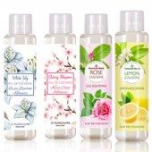 Huncalife Gül, Kiraz Çiçeği, Limon, Beyaz Zambak Kolonyası 200x4