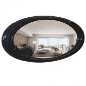 Dekoratif Elips Duvar Aynası