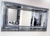 Bombe Çizgili Duvar Aynası
