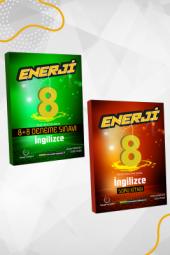 Enerji 8. Sınıf İngilizce Soru Kitabı Ve 8+8 Li Deneme Seti