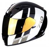 Scorpion Exo 710 Air Gt Kapalı Motosiklet Kaskı (Siyah Altın)