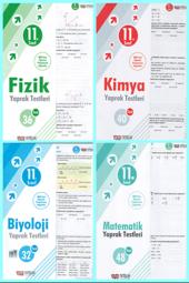 Nitelik 11. Sınıf Fizik,kimya,biyoloji,matematik Yaprak Test Seti