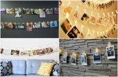 10lu Led Işıklı Fotoğraf Mandalları