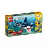 Lego Creator Derin Deniz Yaratıkları Eğitici Zeka Geliştiren Oyun