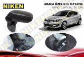 Niken Araca Özel Renault Megane 3 Vidasız Kol Dayama Kolçak Siyah 2012 2015