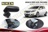 Niken Araca Özel Opel Corsa D Vidasız Kol Dayama Kolçak Siyah 2007 2014