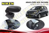Niken Araca Özel Ford Fiesta Vidasız Kol Dayama Kolçak Siyah 2009 Üzeri