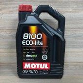 Motul 8100 Eco Lite 5w30 Dexos1 Gen2 4lt 100 Sentetik Motor Yağı Opel
