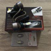 Niken Evo Serisi Hb3 9005 Led Xenon 4000lm 12v + T10 Dipsiz Led Ampül