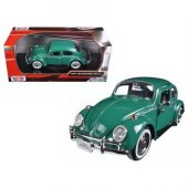 1 24 1966 Volkswagen Beetle Yeşil
