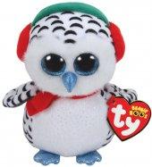 Ty Beanie Boos Kar Kıyafetli Baykuş 15 Cm