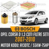 Opel Corsa D 1.3 Cdtı 2007 2010 Bosch Filtre Bakım...