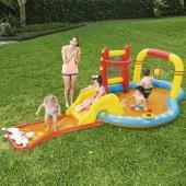 Bestway 53068 Aquapark Kaydıraklı Şişme Havuz Bowling Oyuncaklı