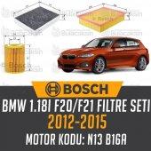 Bmw 1.18i F20 F21 2012 2015 Bosch Filtre Bakım Seti