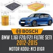 Bmw 1.16i F20 F21 2012 2015 Bosch Filtre Bakım Seti
