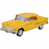 Motor Max 1955 Chevy Bel Air Sarı Renk 1 18 Model Araba