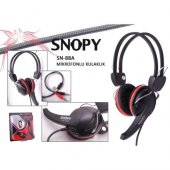 Snopy Sn 88a Mikrofonlu Kulaklık