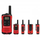 Motorola 4 Km Görüşme Mesafeli El Telsizi 2li Set Kırmızı Tlkr T40