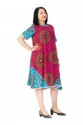 Büyük Beden Elbise Art19yz 7018