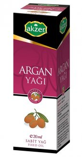 Akzer Argan Yağı 20 Cc
