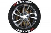 Yeni Ürün Orjinal Dunlop 3d Lastik Yazısı Garantil...