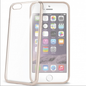 Celly İphone 6 6s İcin Rubber Cover Altın Rengi