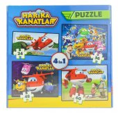 Harika Kanatlar 4 Lü Kutu Puzzle