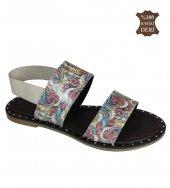 Occupato Shoes Renkli Yazlık Kadın Sandalet, Plaj ...