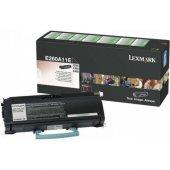 Lexmark E260a11e Orjinal Toner E260 E360 E460 E462
