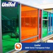 Unifol 6800 Serisi Transparan 122cm Folyo (25m Rul...