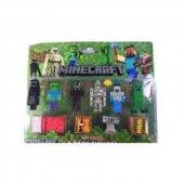 Minecraft 6lı Figür 16 Parça Set
