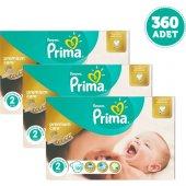 Prima Bebek Bezi Premium Care Dev Ekonomi Paketi 2 Beden 3 Adet
