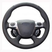 Ford Focus 2012 2014 Araca Özel Direksiyon Kılıfı
