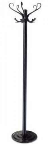 Metal Ayaklı Askı Paslanmaz Çelik Palto Portmanto Askı Bambu